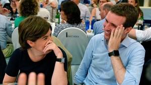 Soria organitza el dinar d'exministres per recolzar Casado
