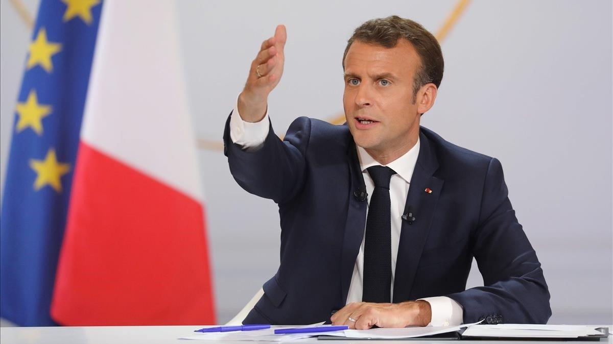 Macron demanarà explicacions als eurodiputats de Ciutadans sobre la seva relació amb Vox