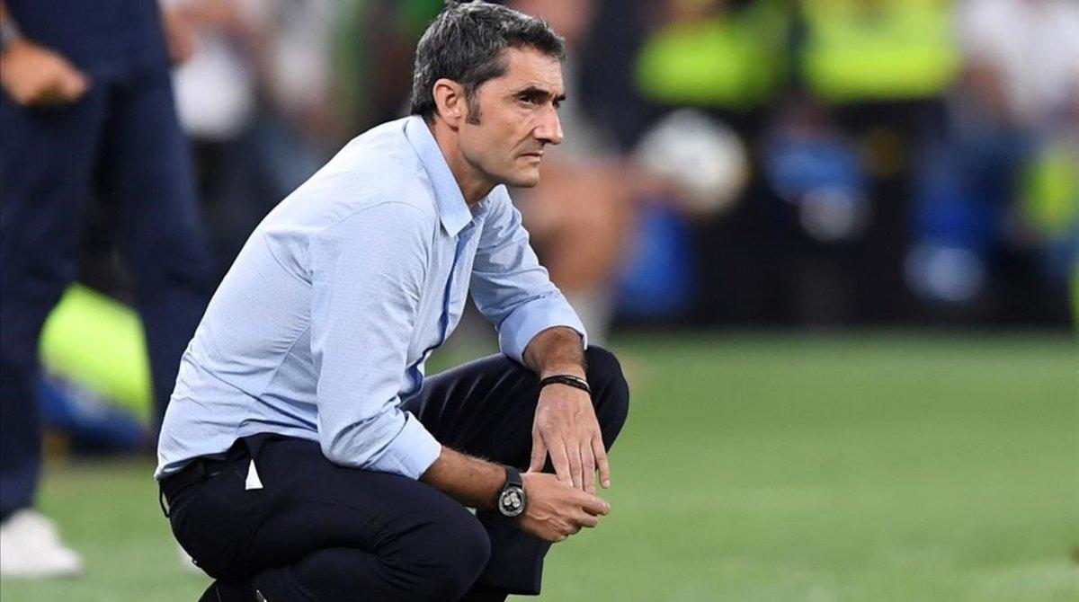 """Valverde: """"No teníamos juego, no había desmarques, ni profundidad"""""""