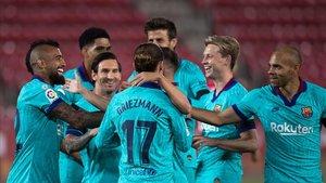 El Barça s'estrena amb golejada davant del Mallorca