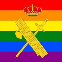 Advocats Cristians es querella contra la directora de la Guàrdia Civil per posar la bandera LGTBI a Twitter