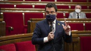 Aragonès promet 200 milions extres per a sanitat i estén la mà a l'oposició