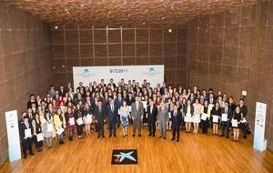 120 estudiantes españoles reciben una beca de La Caixa para estudiar fuera