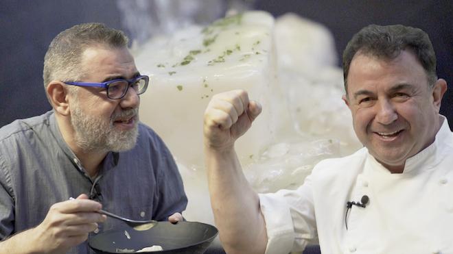 """Els trucs de Martín Berasategui per a un bacallà """"supersenzill"""" i """"superbo"""""""