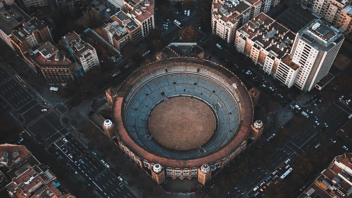 Barcelona a vista del dron de Harry Schuler