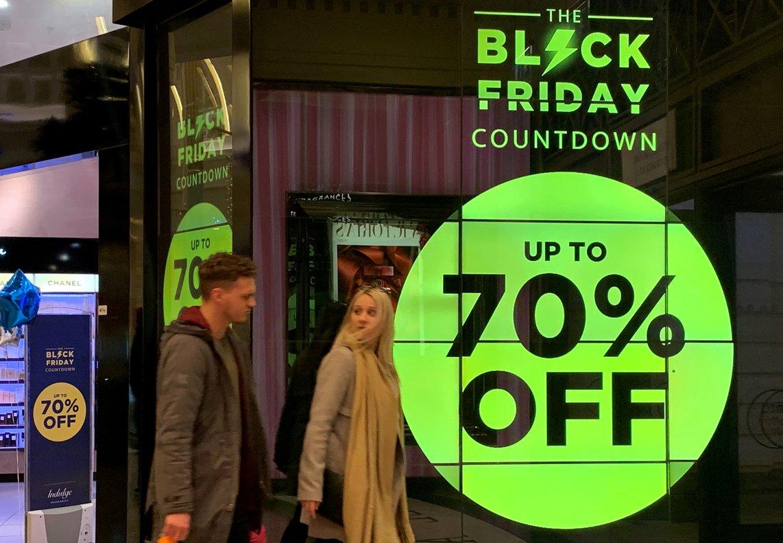 Ofertas Black Friday en Manchester.