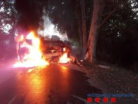Accidente de tráfico en la carretera de Palol (Vilanova de la Muga).