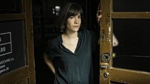 La actriz Bruna Cusí, que actúa en 'Estiu 1993', fotografiada este viernes en la sala de ensayo de la Flyhard, en Sants.