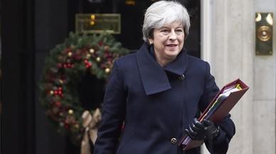 La primera ministra britànica remodelarà el Govern aquest dilluns
