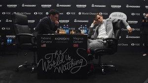 Carlsen mostra debilitats