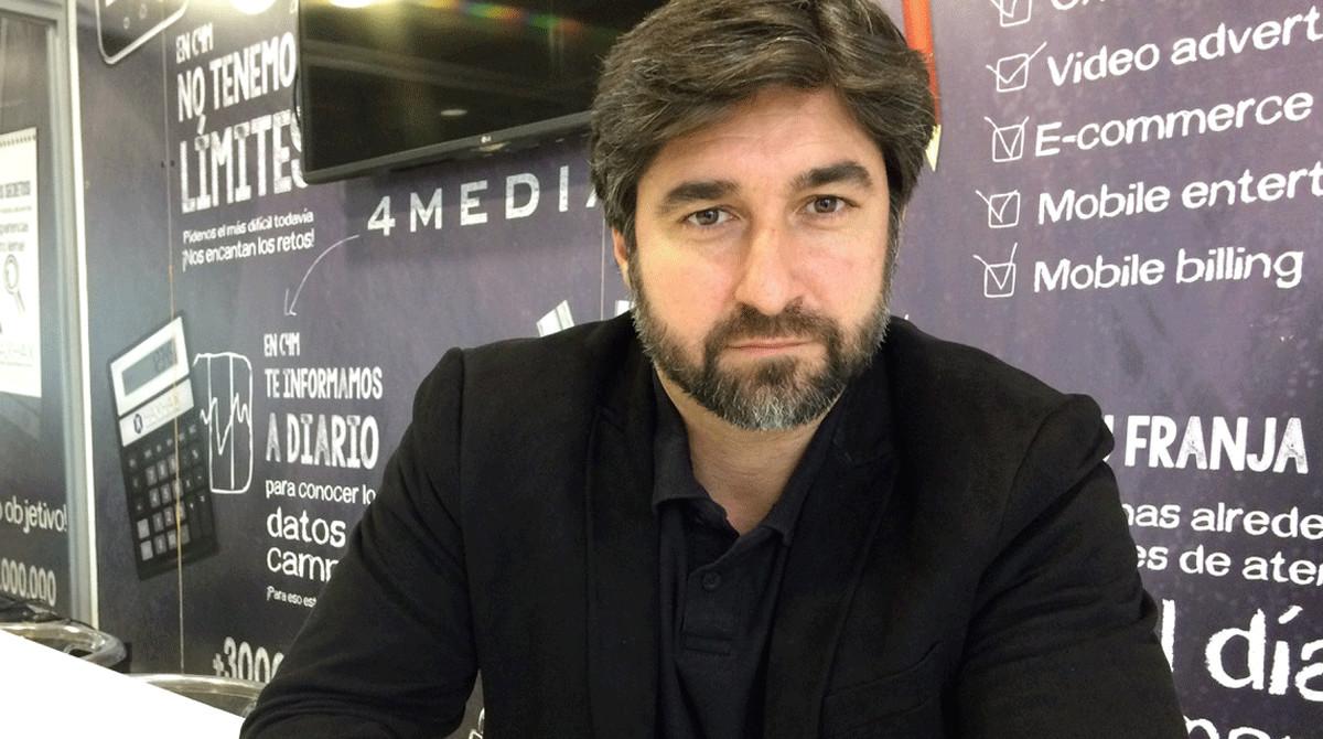 Andrés Pineda, CEO y fundador de la plataforma de márketing de influencers Fheel.