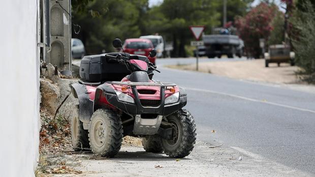 Ángel Nieto greu després de patir un accident en el seu Quad a Eivissa