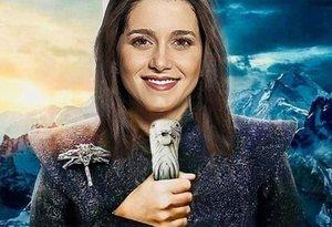 La imagen publicitaria que ha lanzado Ciudadanos en la que Arrimadas representa a Khaleesi, una de las protagonistas de Juego de Tronos.