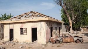 Atentado de Boko Haram en Bama, localidad del noreste de Nigeria muy próxima a la frontera con Camerún, el pasado 8 de diciembre.