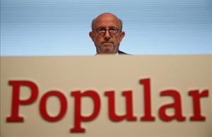 Emilio Saracho, el últimopresidente del Banco Popular.