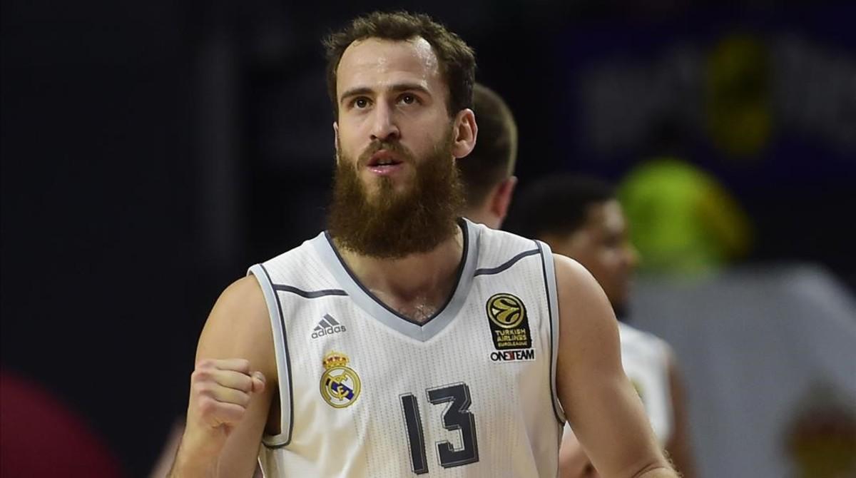El base del Real Madrid, Sergio Rodríguez, vuelve a la NBA de la mano de los Sixers