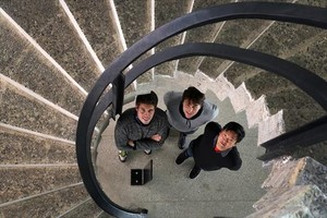 EL EQUIPO. De izquierda a derecha, Carles Sora, Albert Roig y Simon Lee.