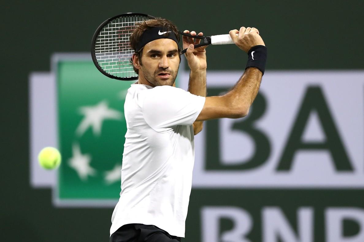 Roger Federer, camino de una nueva victoria.