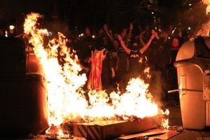 Barcelona xifra en 1,1 milions el cost dels disturbis a la ciutat