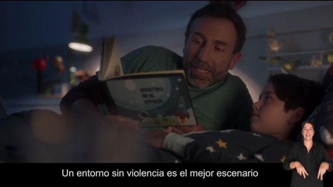 Campaña de Sanidad para concienciar sobre la violencia hacia los menores.
