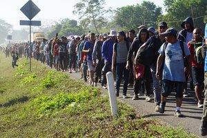 Unos 624 hondureños fueron deportados de México y otros 51 retornaron de Guatemala de manera voluntaria.
