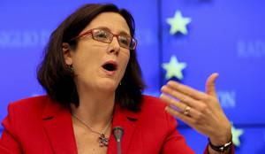 La comisaria europeaCecilia Malmstrom.