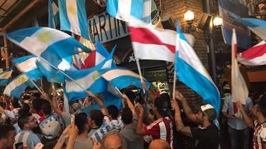 Y en el minuto 86, Argentina resucitó