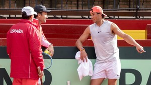 Nadal liderarà Espanya en les semifinals de la Copa Davis contra França