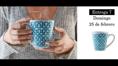 Colección de tazas modernistas de Pilma. Entrega 7