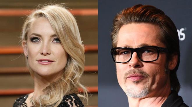 Se confirma la relación de Katye Hudson con Brad Pitt.