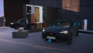 Cupra Formentor en el e-Garage de Cupra