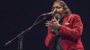 Diego El Cigala, en el Auditori del Fòrum.