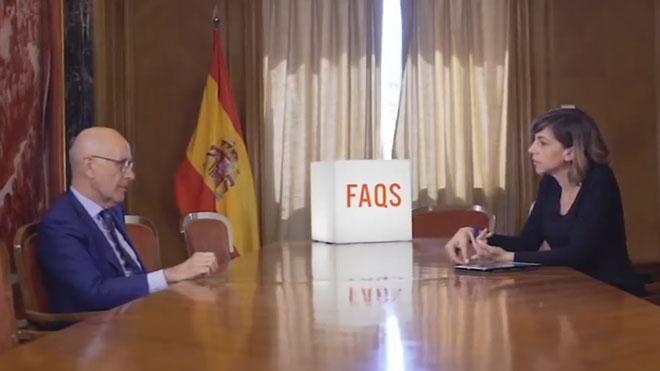 Duran Lleida acusa a TV-3 de ser independentista, en declaraciones al programa 'FAQS'.