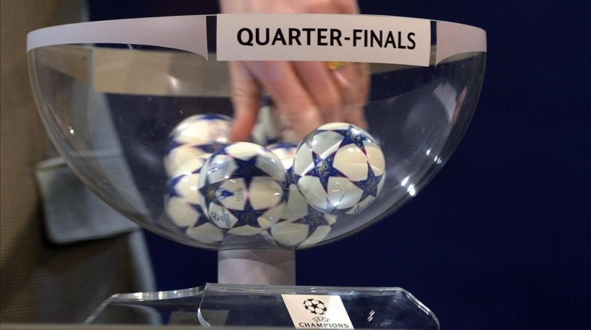 Sorteo de Champions de los cuartos de final 2016: en directo