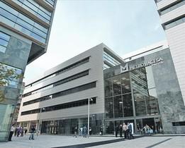 Edificio de Metrovacesa en el 22@, en el distrito de Poblenou de Barcelona.