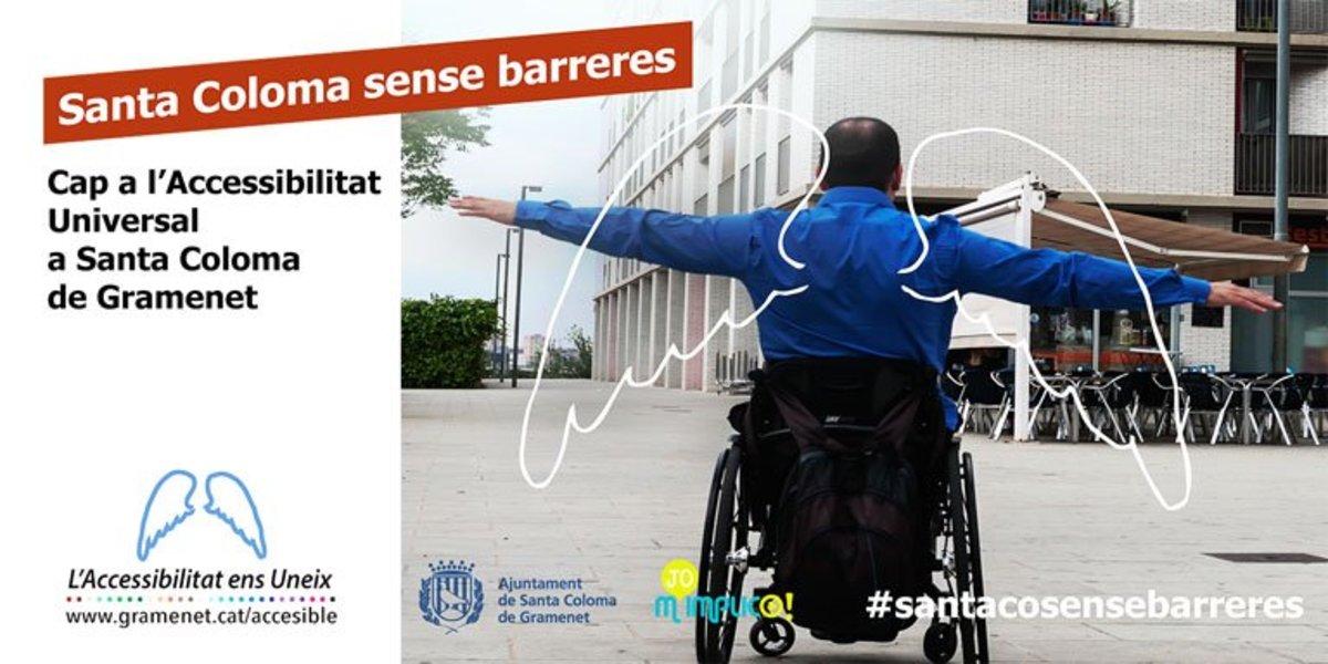 Empieza la campaña participativa Hacia la Accesibilidad Universal en Santa Coloma de Gramenet.