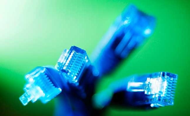 Cables de red fotografiados en Sídney. Australia invertirá 38.000 millones de dólares en una red de banda ancha de alta velocidad, en lo que supone el proyecto de infraestructura más grande del país en las últimas décadas.