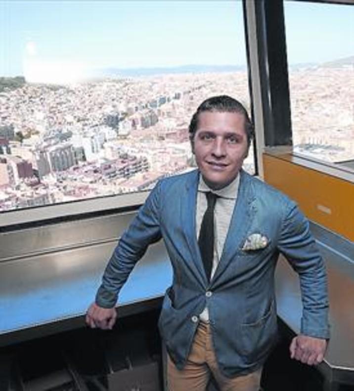 Enrique Valentí, en Marea Alta, en Torre Colón, que abrirá en agosto.