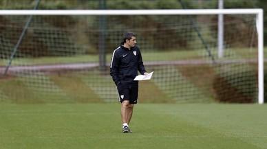Bartomeu anuncia el fichaje de Valverde para suceder a Luis Enrique