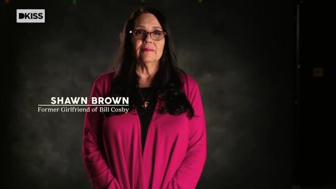 Shawn Brown, una mujer que asegura haber tenido un romance con Bill Cosby, en el documental 'El escándalo Bill Cosby'.