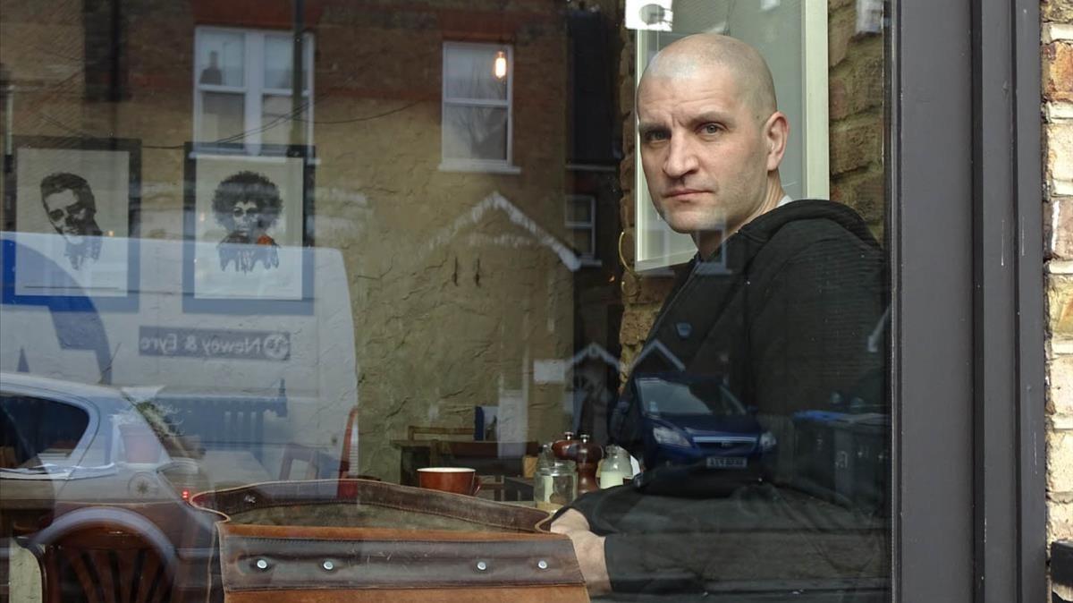 El escritor británico de ciencia ficción China Miéville.