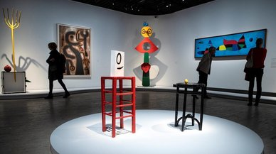 El mundo onírico de Miró vuelve a París
