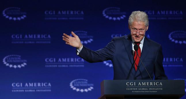 El expresidente de EEUU Bill Clinton.