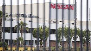 Vista exterior de la fábrica de Nissan en Zona Franca (Barcelona).