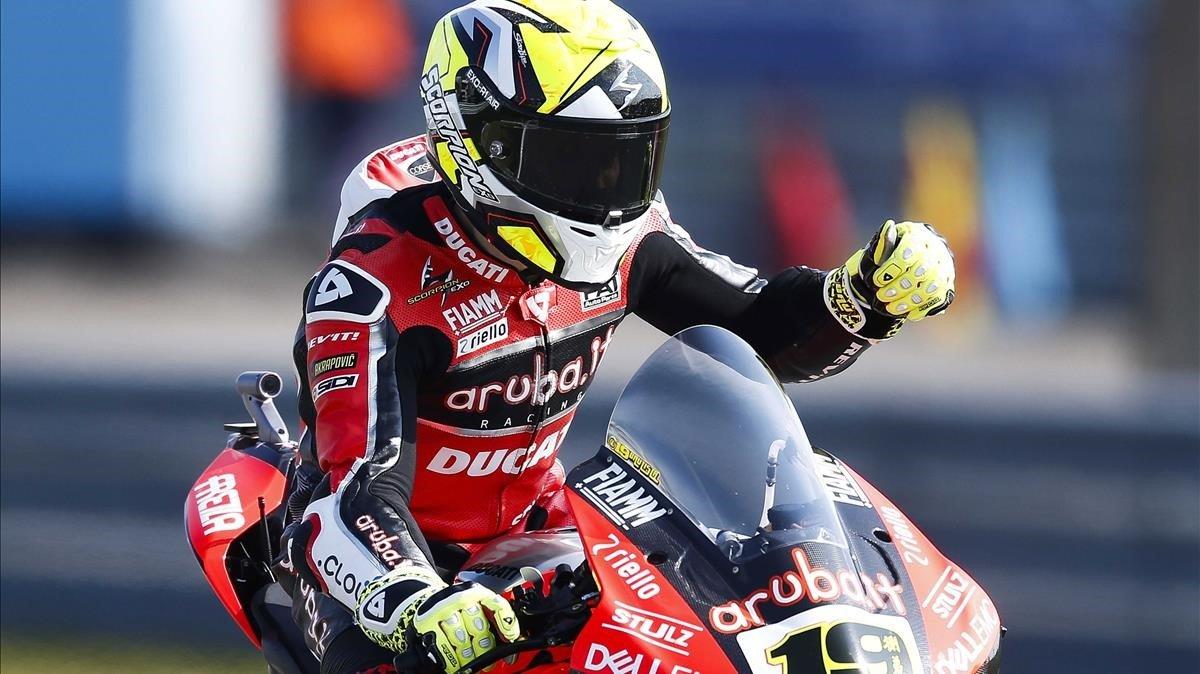 Mundial de Superbike: Bautista firma a Assen la seva victòria 10 de 10