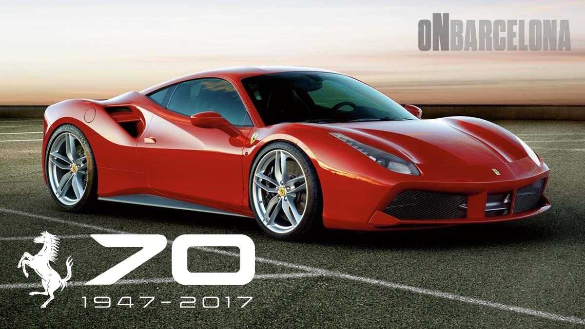 Ferrari cumple 70 años de historia - On Barcelona - castellano