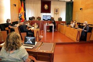 El ple de l'Ajuntament de Badalona obre el procés per designar alcalde