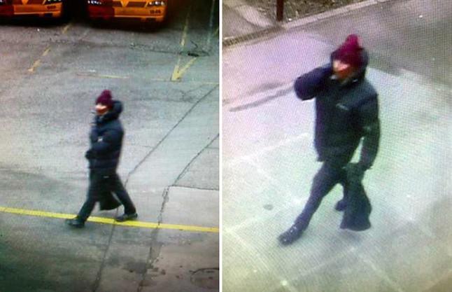 Fotografies difoses per la policia danesa del sospitós dels tirotejos de Copenhaguen.