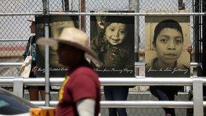 Fotos de niños muertos en la frontera de El Paso.