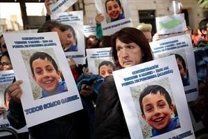 GABRIEL CRUZ Concentración de apoyo el pasado 3 de marzo, en Almería.